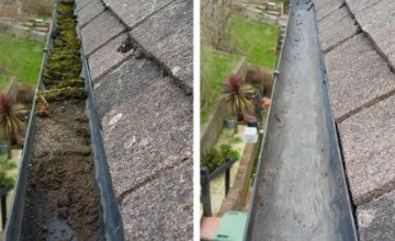 gutter cleaning Whitchurch