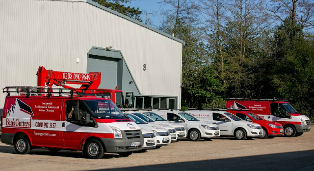 bens gutters residential vehicle fleet