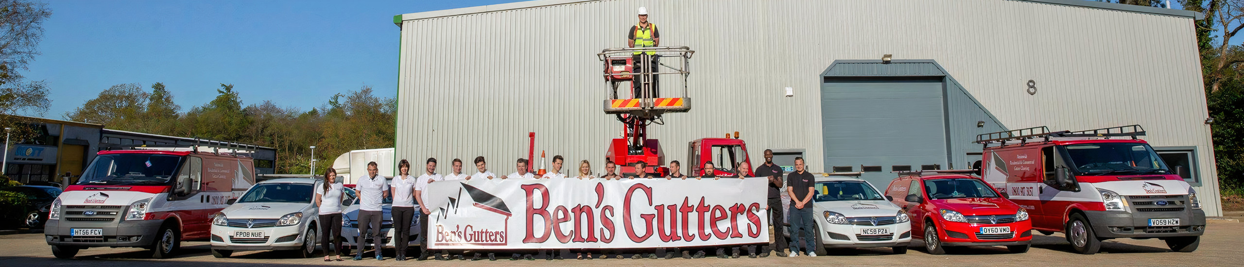 bens gutters Hedge End
